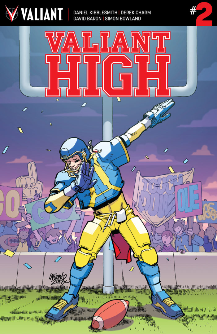 "David Lafuente's ""X-O Manowar"" cover for Valiant High #2 revealed"