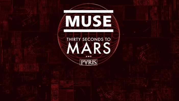 Muse to hit the road with Thirty Seconds to Mars