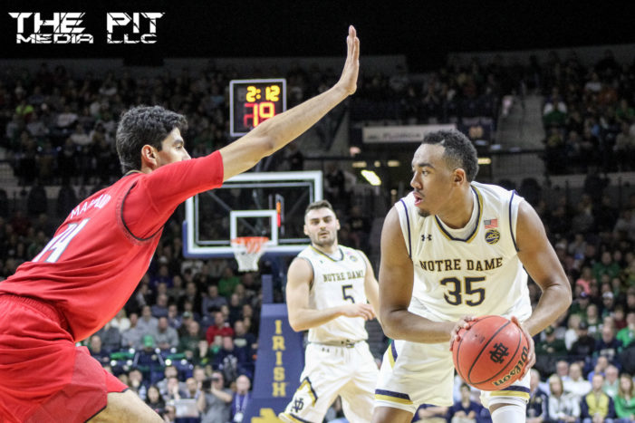No. 19/17 Notre Dame fall to No. 8/7 Louisville in regular season finale