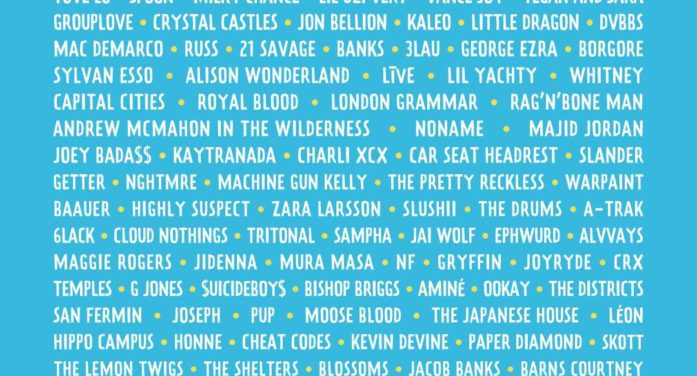 Lineup announced for 2017 Lollapalooza