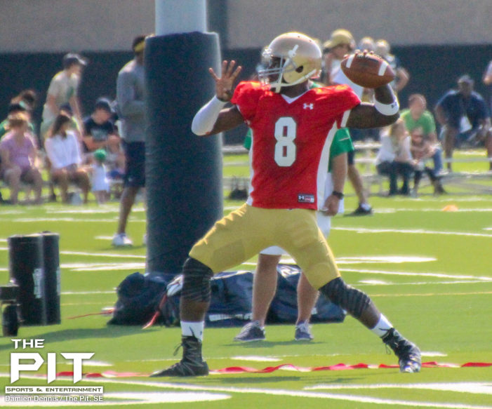 Malik Zaire leans towards Florida