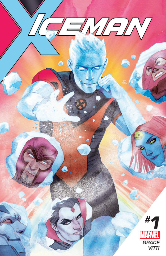 "Marvel Debuts New Solo X-Men Series Titled ""Iceman"""