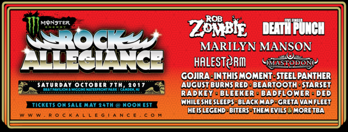 Rock Allegiance snags Rob Zombie as a headliner
