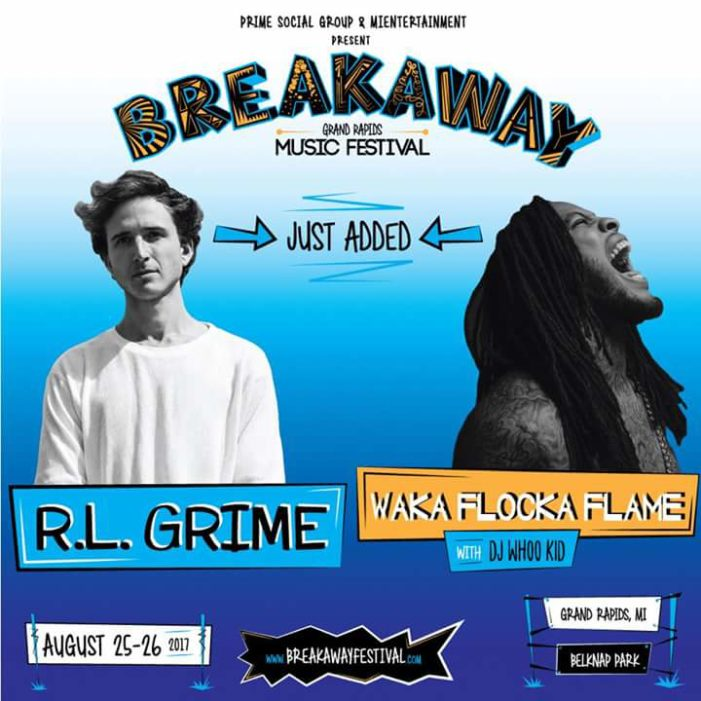 Breakaway Festival Grand Rapids brings R.L. Grime and Waka for final two artists
