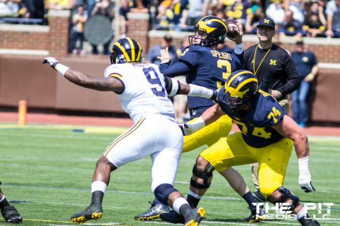 Which Michigan QB will be named the starter?