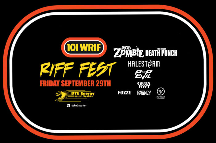Rob Zombie and Five Finger Death Punch to headline Detroit's Riff Fest