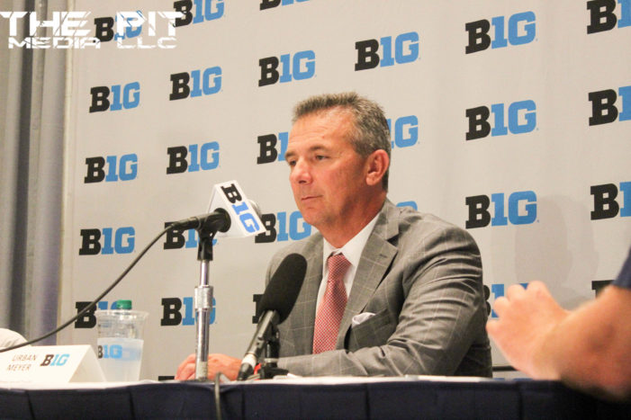 "Urban Meyer calls rivalry with Michigan best in ""all of sport"""