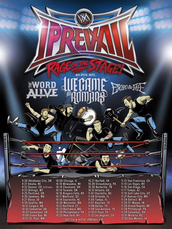 I Prevail announces stacked Rage on the Stage Tour