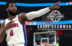 Andre Drummond makes all-time Detroit Pistons roster for NBA 2K18