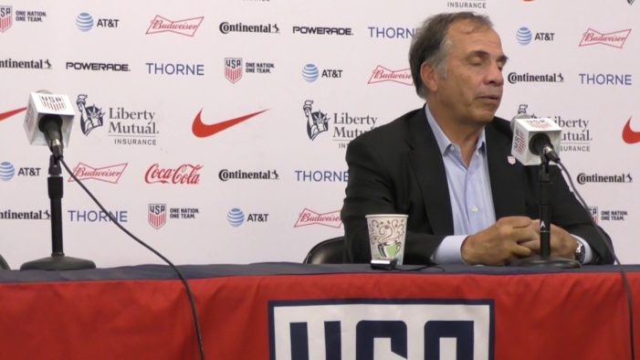 Bruce Arena resigns as USMNT coach; U.S. likely to play several Nov. friendlies