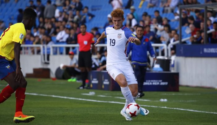 U.S. advances to knockout stage at FIFA U-17 World Cup India