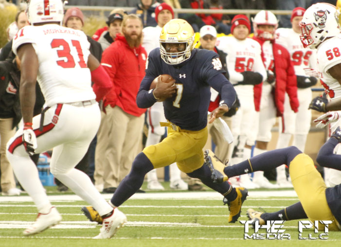 #3 Notre Dame drops Wake Forest 48-37 despite injuries
