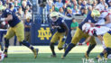 Notre Dame holds of Navy 24-17 on Senior Day