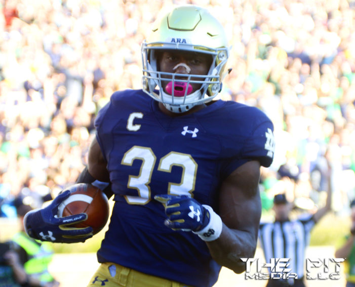 #13 Notre Dame routs #11 Southern Cal 49-14