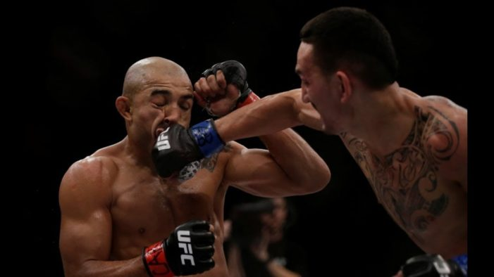 Jose Aldo fills in, will face Max Holloway in UFC Detroit headliner