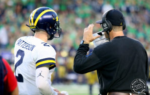 Michigan begins season on losing end in South Bend
