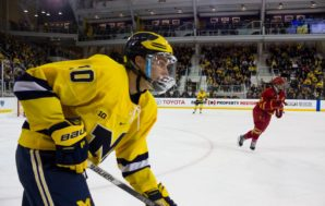 Michigan Splits Weekend Series With Ferris State; Marody, Dancs Extend…